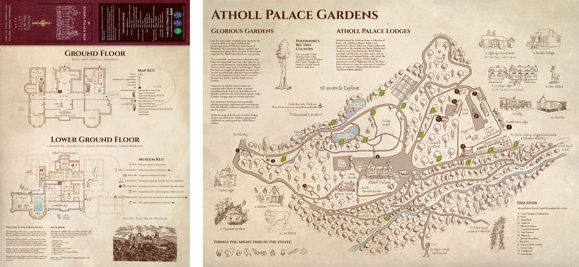 Atholl Palace Map.